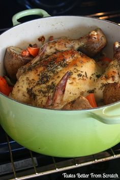 Roast Chicken - Tastes Better From Scratch