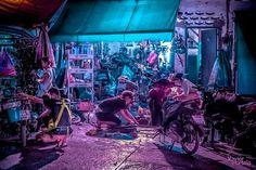 Bangkok Glow: Neon Street Photography by Xavier Portela Bangkok Hotel, Bangkok Travel, Bangkok Thailand, Neon Photography, Photography Projects, Street Photography, Glow, Cyberpunk City, Street Culture