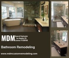Are you planning to remodel your bathroom? If yes, then Look over at MDM Custom Remodeling Inc. We have been providing custom bathroom renovation, new bathroom design services over the years in Los Angeles, CA. Our efficient team of certified professionals can assist you to make your bathroom remodeling project successful. #Bathroomremodeling #Bathroom #remodeling #Bathroomremodelingservice #remodelingservice #Bathroomrenovation #renovation #BathroomremodelingLosAngeles #LosAngeles