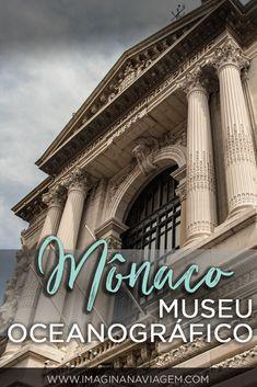 Já ouviu falar no Museu Oceanográfico de Mônaco? Além de ser absolutamente mundialmente reconhecido por seus trabalhos em pesquisa marinha, ele também é um dos maiores pontos turísticos do principado! Confira tudo sobre a visita neste post!  #Mônaco #Monaco #museu #vidamarinha #turismo #viagem