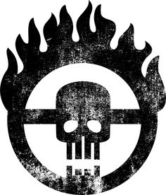 'Mad Max Skull' Sticker by teesandlove Mad Max Tattoo, Life Tattoos, Tatoos, Apocalypse Tattoo, Mad Max Fury Road, Desenho Tattoo, Movie Props, High Art, Symbolic Tattoos