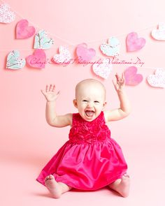 first valentine's day shoot, valentine's day card, valentine's day studio, pink dress,