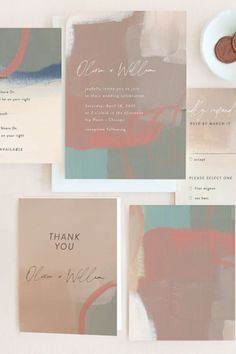 """Be sure to set the tone for your wedding reception! Whether you choose classic wording, such as """"reception to follow"""" or take a more bubbly approach with """"join us for drinks, dinner, and dancing,"""" make sure you include details about your after-ceremony festivities! #stylemepretty #minted #weddinginvitations Save The Day, Unique Wall Art, Stuff To Do, Rsvp, Holiday Cards, Wedding Reception, Wedding Invitations, Stationery, Mint"""