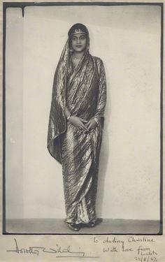 Maharaj Kumari Lalitarni Devi of Burdwan - Daughter of Sir Bijay Chand Mahtab, Maharaja Bahadur of Burdwan - Old Indian Photos History Of India, Asian History, Women In History, Vintage Photographs, Vintage Photos, Modern Sari, Monsoon Wedding, Colonial India, Royal Indian