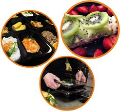 Healthy Food - PROGRAM PALEO Catering, Food Program, Acai Bowl, Panna Cotta, Paleo, Healthy Recipes, Breakfast, Ethnic Recipes, Diet