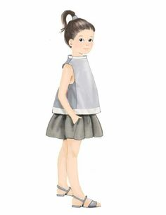 Style Sight - Children's fashion forecast for sping / summer 2014.