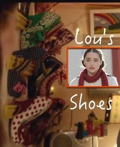 Me Before You Lou's shoes