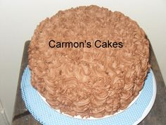 A Chocolate Cake with Strawberry Filling and a Chocolate Whipped Icing :-)