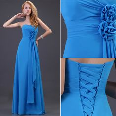 Stock!Sexy Womens Party Evening Bridesmaid Cocktail Long Dress Gown Prom Formal
