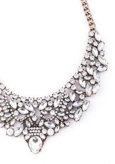 Vintage Glamour Statement Necklace