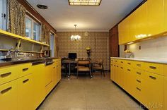 The 1960's kitchen was all about making a statement