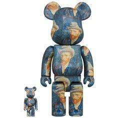 Van Gogh Museum Self Portrait 100% + 400% Bearbrick Set (JAN2021) #vangogh #selfportrait #medicom #fatsuma #bearbrick #bearbrick400 #vincentvangogh #collectible #toy #designertoy #vinyltoy #arttoy #instagood #beautiful #love #art #fashion #new Pokemon Charizard, Artist Branding, La Colors, Van Gogh Museum, Astro Boy, Vinyl Toys, Mickey Minnie Mouse, Designer Toys, Dark Night