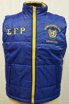 Sigma Gamma Rho Sorority Vest - Brothers and Sisters' Greek Store