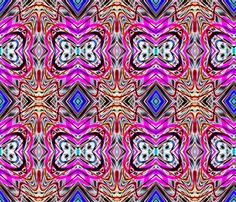 Neon_Pinstripes1_D_X fabric by k_shaynejacobson on Spoonflower - custom fabric