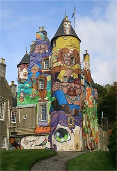 Top 10 Street Art on Buildings | Most Beautiful