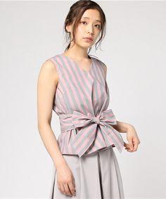 【ZOZOTOWN|送料無料】Demi-Luxe BEAMS(デミルクス ビームス)のシャツ/ブラウス「Demi-Luxe BEAMS / ストライプ ノースリーブプルオーバー」(68-01-0171-002)をセール価格で購入できます。