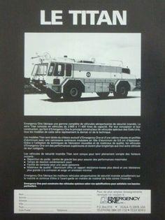 TITAN Airport Crash Truck Advert