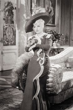 Mae West in 'Everyday's a Holiday', Elsa Schiaparelli designed her outfit. 1938