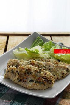 Pollo alle mandorle e basilico