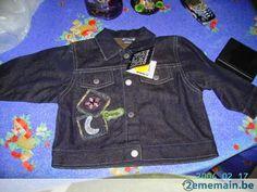 Veste en jeans - A vendre à Charleroi Montsur-Marchienne
