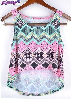 c51acdc46fc3e Купить товар T рубашки 3d принт женщины топы и майки печать майка девочки  лето короткая топы