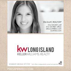 Keller Williams business cards, Weichert marketing products, realtor business…