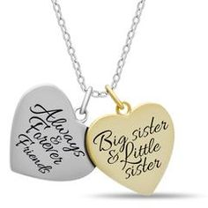 925 Sterling Silver Sister Double Heart Necklace for Best Sister Forever Engraved Gold Plated Two Heart Necklaces for Sister Silver Pendant for Sisters Heartbeat Charm Chain 16 2 Ext w Clasp *** You can get more details by clicking on the image. Mother Daughter Jewelry, Sister Jewelry, Sister Necklace, Necklace For Girlfriend, Silver Pendant Necklace, Sterling Silver Necklaces, Double Heart Necklace, Heart Necklaces, Long Necklaces