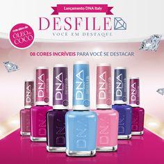 DNA ITALY Magenta, Nail Polish, Italy, Nails, Serenity, Beauty, Nail Art, Nail Ideas, Colors