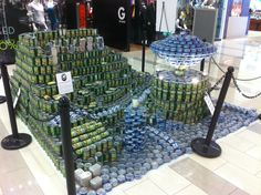 Canstruction UFO