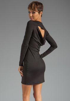 SUSANA MONACO Light Supplex Cowl Back Dress