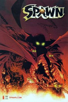 #Spawn 111 |[] frontpage by #ToddMcFarlane