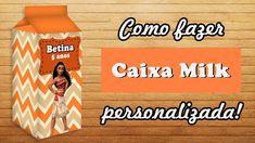 Como fazer caixa milk personalizada no programa Photoscape - Blog Montan...