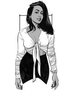 Melinda Shankar by Cameron Stewart Black Women Art, Black Art, Drawing Skills, Figure Drawing, Dibujos Pin Up, Character Art, Character Design, Anime Sensual, Poses References