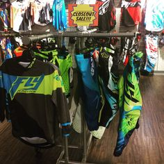 CLOSEOUT SALE!!!! Fly Racing, Fox, KTM, Can Am, and several other brands now at SUPER LOW PRICES!!! Stop by Hattiesburg Cycles today from 9-6!!!