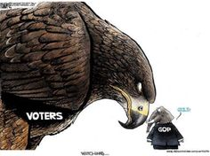 We, the voters, have the power. Don't like what's going on, then vote! Vote these regressive, ignorant, hateful, manipulative asshats out in their next election cycle! Mark your calendars, set reminders on your phones, we can't afford to let these fucktards stay in power any longer.
