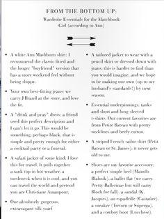 Dressing Tips from Ann Mashburn