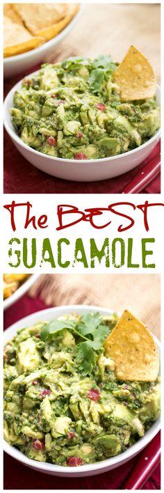 Mary's Guacamole   Look no further: The BEST guacamole recipe @lizzydo
