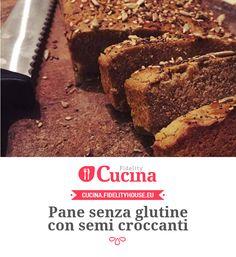 Pane senza glutine con semi croccanti