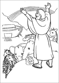Bible Stories Coloring Pages: If you're looking for some inspirational Bible coloring sheets, you will find our recommendations belo Free Bible Coloring Pages, Preschool Coloring Pages, Preschool Bible, Cool Coloring Pages, Animal Coloring Pages, Coloring Pages For Kids, Coloring Books, Printable Coloring, Kids Coloring