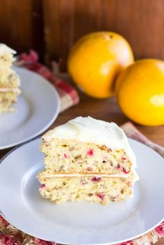 Cranberry Orange Pecan Cake : Kendra's Treats