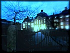 Where I used to get my electro shocks by MushroomBrain on DeviantArt Electro Shock, Insane Asylum, Multimedia Artist, King Queen, Homeland, Fine Art Photography, Worlds Largest, Sweden, Old School