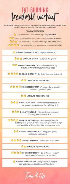 NEW Metabolism-Boosting, Fat-Burning Treadmill Workout – ToneItUp.com