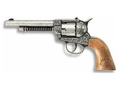 The Edison Frontier is a 12 shot cap gun that is perfect for children and adults to play with. This model comes complete in a display box. The Edison 12 shot super disc caps are suitable for use with this model.