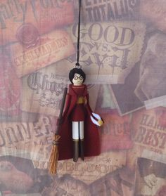 Custom Order for Kristin-Harry Potter Clothespin by LittleParade
