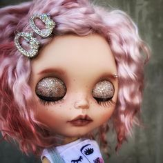Cute Baby Dolls, Cute Babies, Blythe Dolls For Sale, Bear Girl, Valley Of The Dolls, Food Drawing, Creepy Dolls, Custom Dolls, Beautiful Dolls