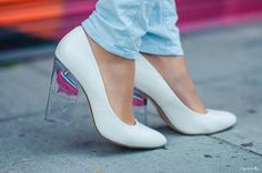 The Minx Pump - a glass slipper that never needs the help of a prince. (http://www.nastygal.com/by-nasty-gal-shoes/minx-pump-white)