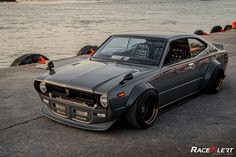 JDM Racecar and Automotive Apparel by JDMUnderground Classic Japanese Cars, Classic Cars, Toyota Corolla, Corolla Ke70, Slammed Cars, Good Looking Cars, Old School Cars, Jeep Cars, Tuner Cars