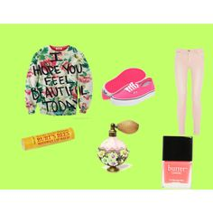 pretty in watermelon3, created by smepley on Polyvore