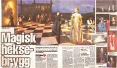 "BA - Linda Fosse og Jorunn Torsheim i musikalen ""Which Witch"" på Seim, utanfor Bergen"