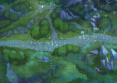 map dnd rpg forest library tiles tabletop maps grid virtual night fantasy